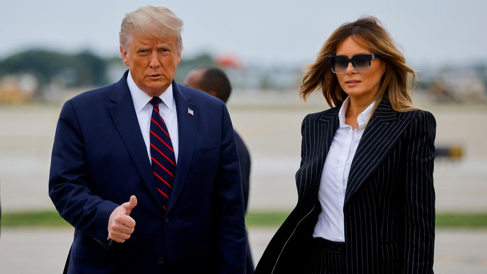 BREAKING: Trump, First Lady, Melania Test Positive For Covid-19
