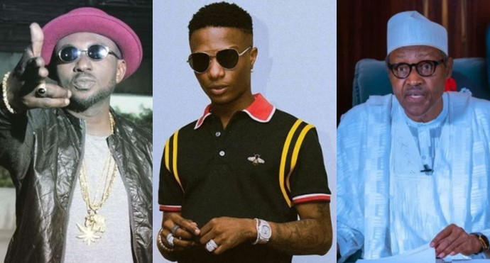 Blackface Tackles Wizkid Over Harsh Comment On Buhari
